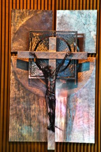CRUCIFIX OVER THE ALTAR OF REPOSE