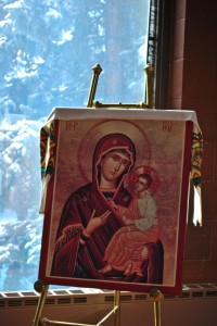 ICON OF MARY IN THE MARIAN CHAPEL